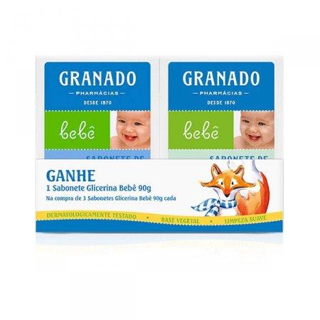 Kit de Sabonetes Granado Bebê Leve 4 e Pague 3