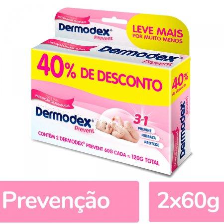 Kit Creme para Prevenção de Assaduras Dermodex Prevent 1 Unidade | Droga Raia