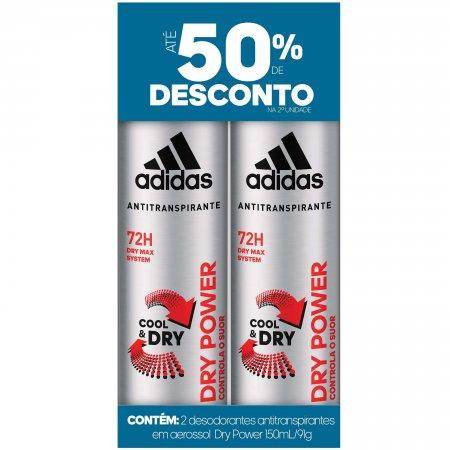 Desodorante Aerosol Adidas Dry Power Masculino