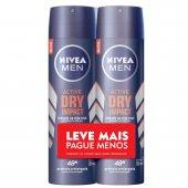 Kit Desodorante Aerossol Nivea Men Dry Impact