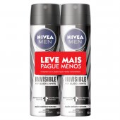 Kit Desodorante Aerossol Nivea Men For Black & White