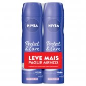 Kit Desodorante Aerossol Nivea Protect & Care
