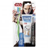 Kit Escova Dental Oral-B + Creme Star Wars