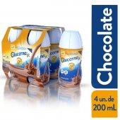 GLUCERNA SR  SABOR CHOCOLATE 200 ML COM 4 UNIDADES
