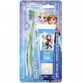 Kit Escova + Creme Dental Oral-B Stages Frozen