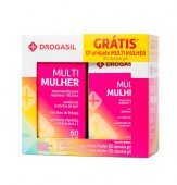 DROGASIL MULHER PACK 60+30 CAPSULAS
