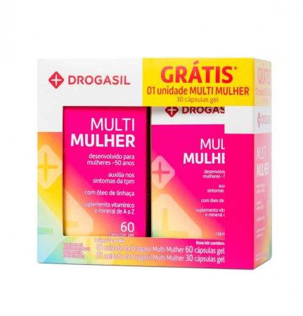 Kit Multivitamínico Drogasil Mulher 1 Unidade | Drogasil.com