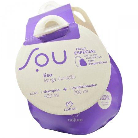 Kit Shampoo + Condicionar SOU Liso Longa Duração