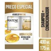 PANTENE KIT SHAMPOO 400ML + CONDICIONADOR 175ML HIDRATACAO