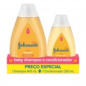 Kit Shampoo + Condicionador Johnson's Baby