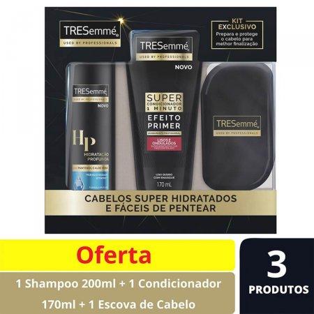 Kit Shampoo Tresemmé Hidratação Profunda + Super Condicionador Liso