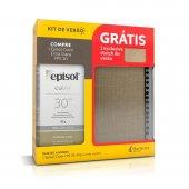 Kit Protetor Solar Episol Color Cor Extra clara FPS30