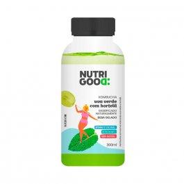 Kombucha Nutrigood sabor Uva Verde e Hortelã com 300ml