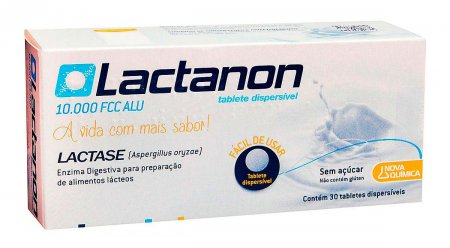 LACTANON 10000 FCC 30 TABLETES