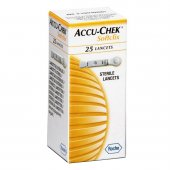 Lancetas Accu Chek Softclix Controle de Glicose