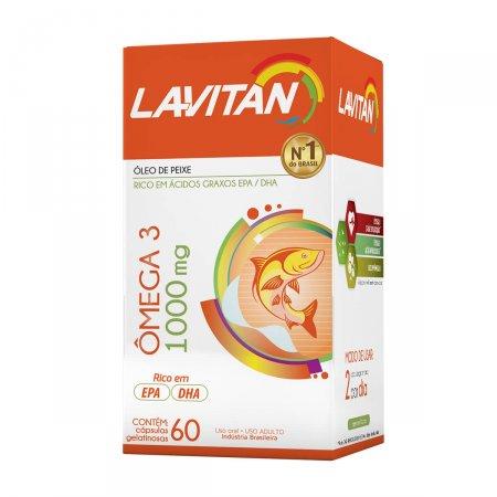 LAVITAN POLIVITAMINICO OMEGA 3 60 COMPRIMIDOS
