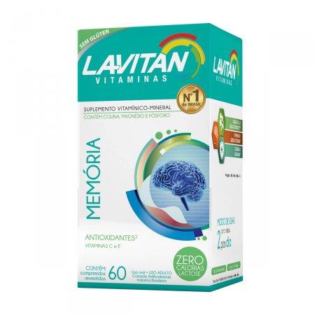 Lavitan Memória com 60 Comprimidos   Drogasil.com