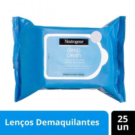 NEUTROGENA DEEP CLEAN LENCO DEMAQUILANTE COM 25 UNIDADES