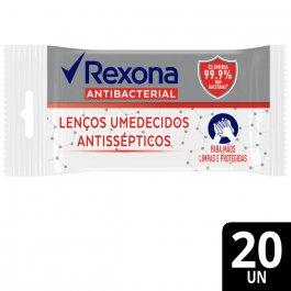 Lenço Umedecido Antisséptico Rexona Antibacterial