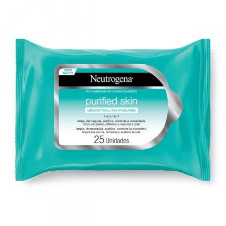 Lenço Micelar 7 em 1 Neutrogena Purified Skin