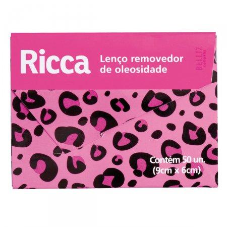 BELLIZ REMOVEDOR DE OLEOSIDADE RICCA 50 PACOTES