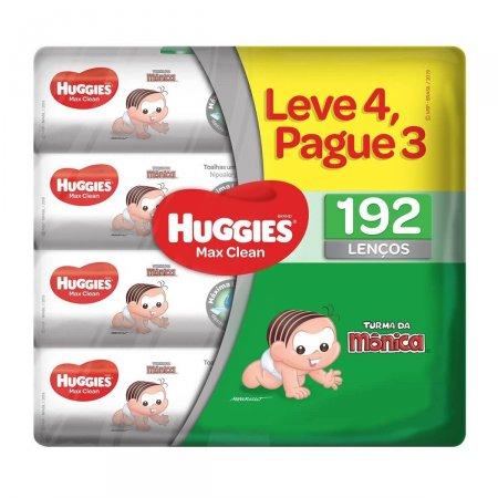 HUGGIES LENCOS UMEDECIDOS CLASSIC LEVE 4 PAGUE 3