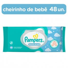 PAMPERS LENCOS UMEDECIDOS REGULAR 48 UNIDADES