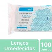 NEEDS LENCOS UMEDECIDOS ALOE VERA 100 UNIDADES