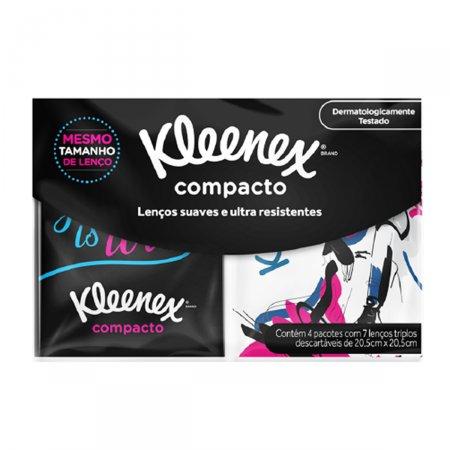 Kit Lenços de Papel de bolso Kleenex Compacto