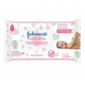 Lenço Umedecido Johnson's Proteção da Pele