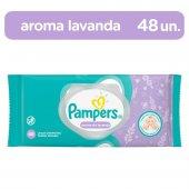 PAMPERS LENCOS UMEDECIDOS AROMA DE LAVANDA 48 UNIDADES