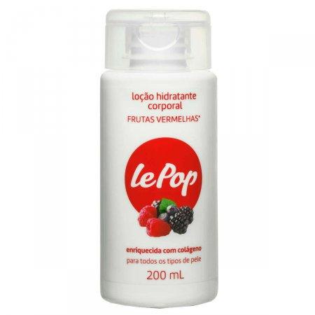 Loção Hidratante Corporal Lepop Frutas Vermelhas