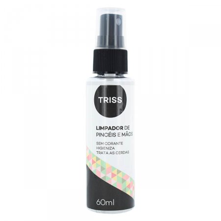 TRISS LIMPADOR PINCEIS DE MAQUIAGEM E MAOS SPRAY 60ML