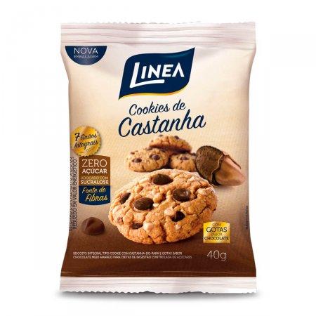 Cookies com Castanha e Chocolate