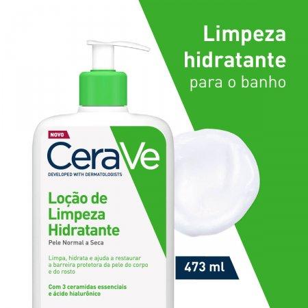 CERAVE LOÇÃO DE LIMPEZA HIDRATANTE 473ML