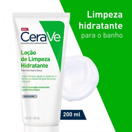 CERAVE LOÇÃO DE LIMPEZA HIDRATANTE 200ML