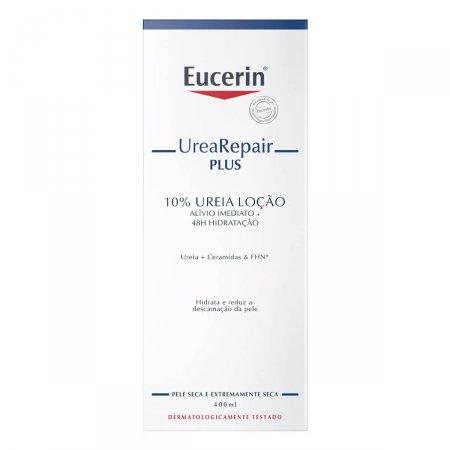 Loção Eucerin UreaRepair Plus 10% Uréia 400ml | Drogaraia.com