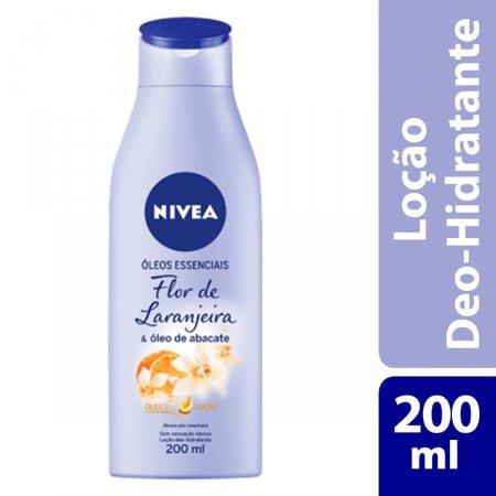 Loção Hidratante Nivea Óleos Essenciais Flor de Laranjeira