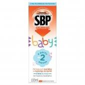 Repelente Infantil SBP Baby Sem Fragrância Loção Corporal com 100ml