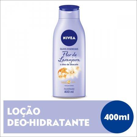 NIVEA BODY LOCAO HIDRATANTE FLOR DE LARANJEIRA 400ML