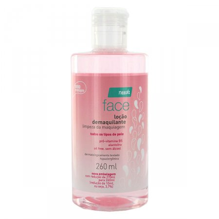 NEEDS DEMAQUILANTE LOCAO FACIAL 260ML
