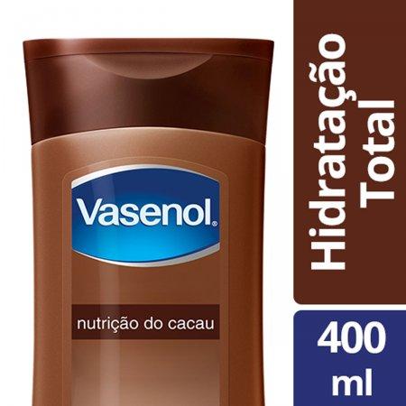 VASENOL LOCAO TOTAL NUTRICAO DO CACAU 400ML