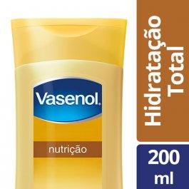 Loção Desodorante Hidratante Vasenol Hidratação Total Nutrição