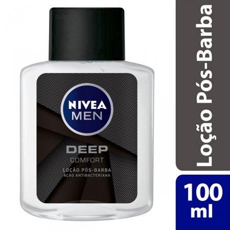 Loção Pós-Barba Nivea Men Deep Comfort 100ml | Drogasil.com Foto 2