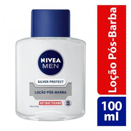 Loção Pós Barba Nivea Men Silver Protect