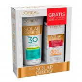 Kit Protetor Solar L´oréal FPS30 + Protetor Solar Facial L´oréal FPS30