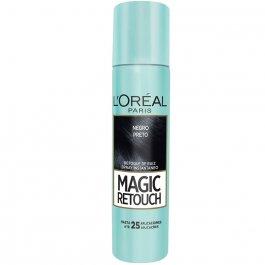 Retoque de Raiz Instantâneo em Spray L'Oréal Magic Retouch Preto 75ml