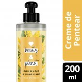 LOVE, BEAUTY AND PLANET CREME PARA PENTEAR HOPE AND REPAIR OLEO DE COCO & YLANG YLANG FRASCO 200ML