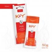 Lubrificante Íntimo K-Y Hot Ultragel com 50g