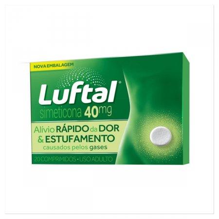 Luftal 40mg 20 Comprimidos Reckitt Benckiser | Drogasil.com Foto 1
